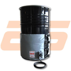 Drum heater for drums of 200 Litres -  1.770 x 450 mm - 1.000 W