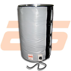 Drum heater for drums of 200 Litres - 1.770 x 900 mm - 1.500 W